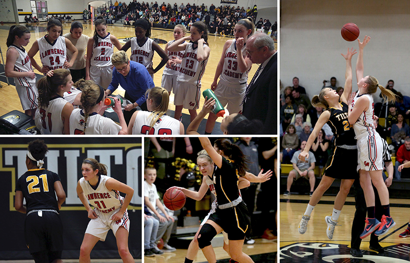 LA girls' basketball at Tilton
