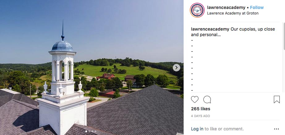 Lawrence Academy on Instagram!