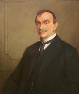 Pillsbury portrait - after restoration.