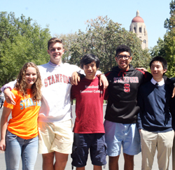 IIP students at Stanford