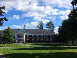 J. Ricard '15 took this picture of the Quad